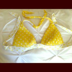 Victoria's secret polka dot bikini top